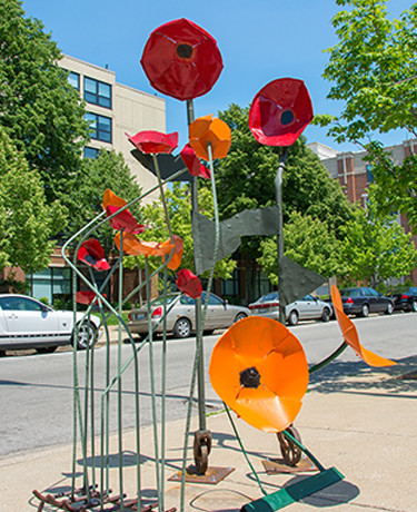 """Cluster of Poppies"" by JENNIFER MEYER"