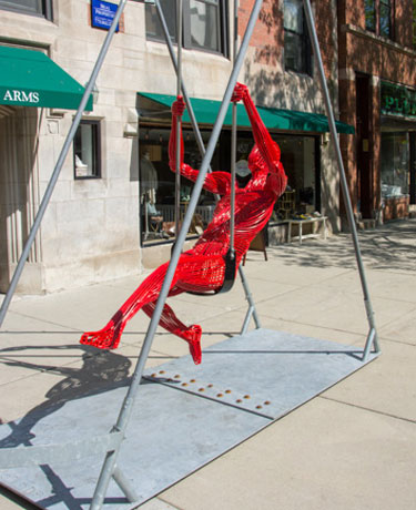 """Swinging II"" by JACK HOWARD-POTTER"