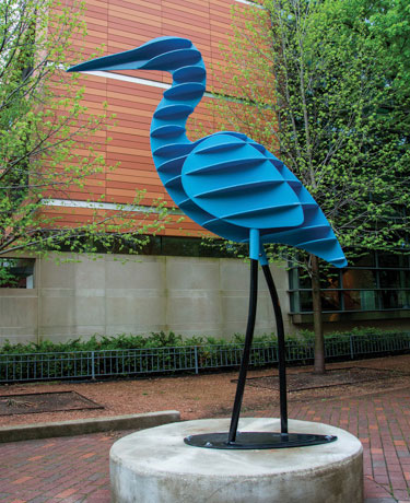 """Waterbird"" by JANET AUSTIN"
