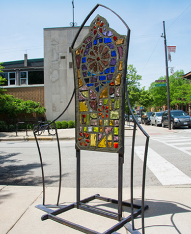 """Architectural Reliquaries: Gothic Bike Rack"" by SUZY HENDRIX"