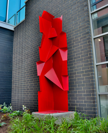 """Articulated Column"" by CARL BILLINGSLEY"