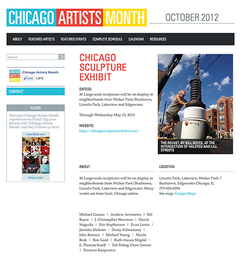 Chicagoartistmonth